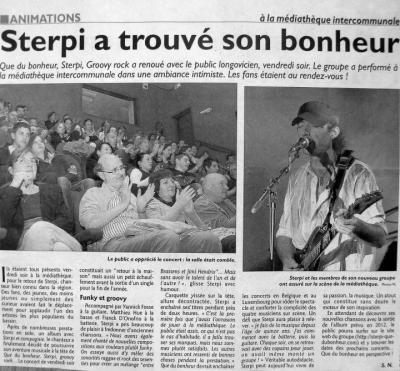 Article 1er concert QDB