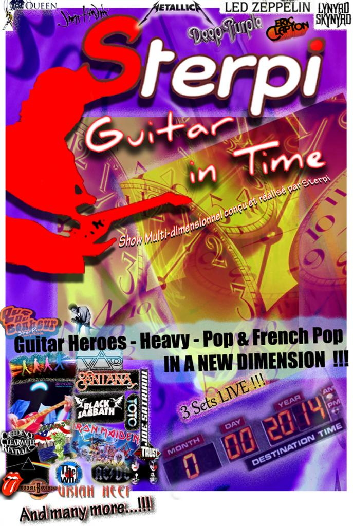 Affiche Sterpi-Guitar In Time