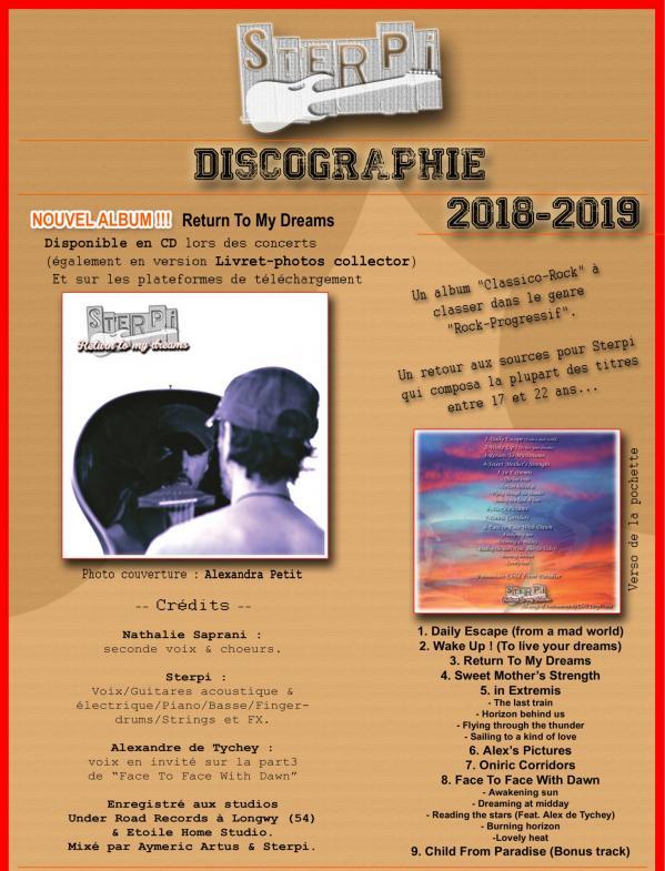 Discographie 1a